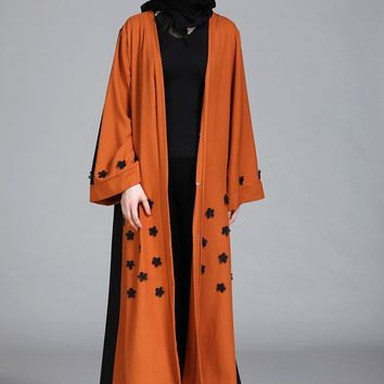 2018 New Robe Arab Worship Party Gowns Female Dubai Abaya dress