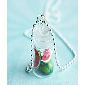 Watermelons in a Jar Necklace