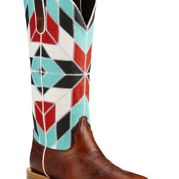 Ariat Mirada Caliche Cowgirl Boots - Square Toe