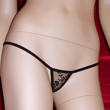 Micro g string thong sexy lingerie, Calipso, womens underwear made to order for perfect fit. Made to measure