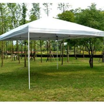14' x 14' Pop Up Canopy Tent – White