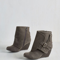 Urban Follow the Fashionista Boot in Pebble