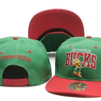 DCCKUN7 Milwaukee Bucks Nba Cap Snapback Hat - Ready Stock