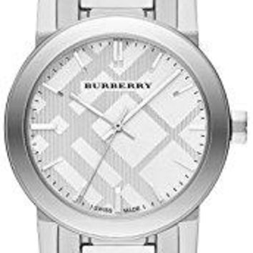 Burberry The City Stainless Steel Ladies Watch BU9233