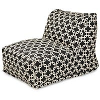 Black Links Bean Bag Chair Lounger