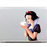 "Colorful Snow White  Carton DIY MacBook Skin Decal Sticker for Apple Macbook Pro Air Mac 13"" inch Laptop 13 Inch SKI-002"