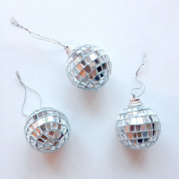 Mini Disco Balls - Set of 3