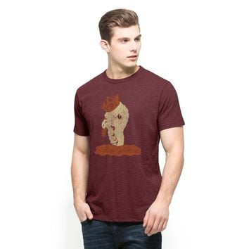 Virginia Tech Hokies Maroon Scrum Men's Tee