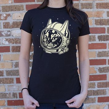 AstroCat [Astronaut Space Cat] Women's T-Shirt