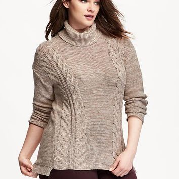 Best Women's Cable Turtleneck Sweater Products on Wanelo