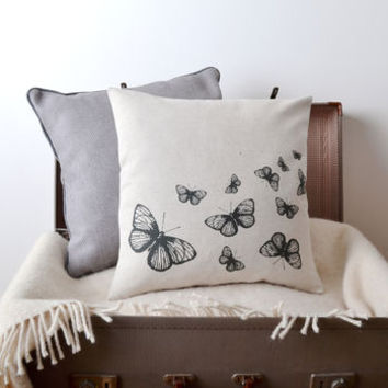 'Butterflies' Cushion Cover