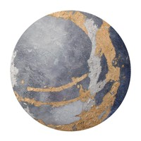 Gold Sky Round Wall Decor