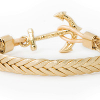 Anchor Bracelet - Golden Birch - by Kiel James Patrick