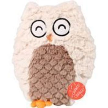 Ethical Dog - Soft Swirl Plush Owl Dog Toy