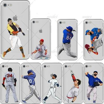 Baseball Cartoon Collection Phone Cases for iPhone