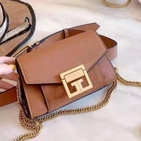 Givenchy 2019 new women's wild chain bag shoulder bag small square bag