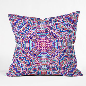 Jacqueline Maldonado Carnivale 2 Throw Pillow