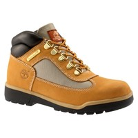Youth Leather and Fabric Field Boots