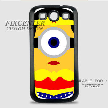 WONDER WOMAN MINION - Samsung Galaxy S3 Case