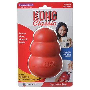Kong Classic Dog Toy - Red