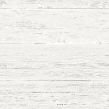 "Shiplap 18' x 20.5"" Wood Wallpaper Roll"