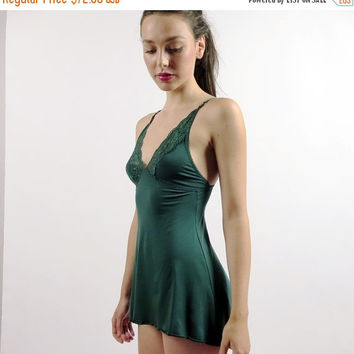 womens bamboo nightgown - GEM lingerie range - made to order