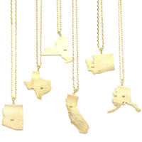 Gold State Charms