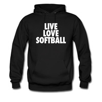 Live Love Softball hoodie sweatshirt tshirt