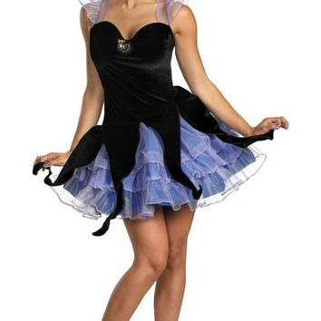 Little Mermaid Sassy Ursula Costume for Women - Party City