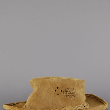 Rogue Suede Leather Gambler Hat