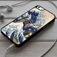 Wave off Kanto Pokemon iPhone 4/4s 5 5s 5c 6 6plus 7 Case