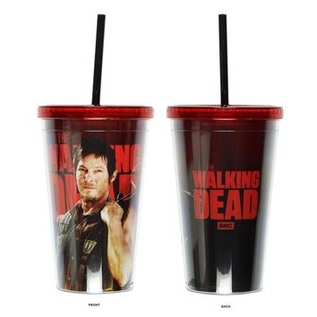 AMC The Walking Dead Daryl Dixon Character Carnival cup