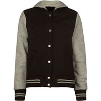 Full Tilt 2Fer Girls Jacket Black/Grey  In Sizes