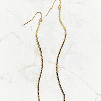 Chain Fringe Drop Earring - Urban Outfitters