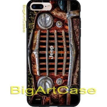 Best Hot Vintage Jeep Wrangler CASE COVER iPhone 6s/6s+7/7+8/8+,X and Samsung