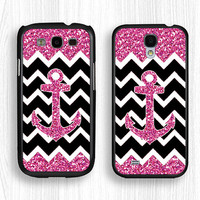 Samsung case,pink GALAXY Note3 case,glittering GALAXY Note2 case,sparkling Galaxy S4 case,anchor Galaxy S3 case,chevron Galaxy S5 case