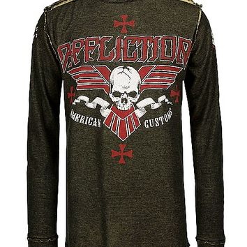 Affliction American Customs Bullet Bars Thermal