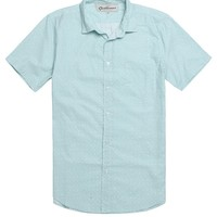 Wellen Honolulu Oxford Woven Shirt - Mens Shirts - Green