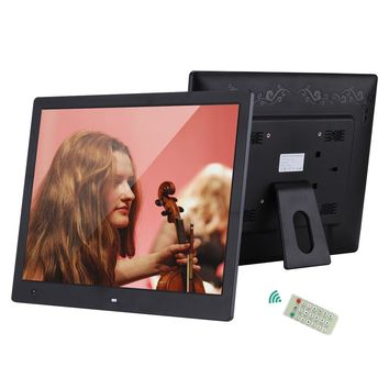"16"" Digital Picture Frame 1600*1200 High Resolution Wide Screen Digital Photo Frame w/ Remote Control Motion Detection Sensor"
