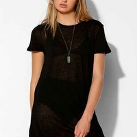 Truly Madly Deeply Crew-Neck Tunic Tee-