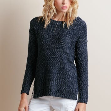Victoria Falls High-Low Sweater