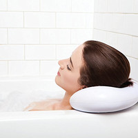 Luxury Spa Bath Pillow with Suction Cups - Best Quality Waterproof Extra Firm - Supports Your Neck & Head Perfectly - Fits All Hot Tub, Whirlpool, Jacuzzi & Standard Tubs