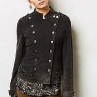 Knit Military Jacket
