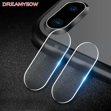 For Apple iPhone X 8 7 6 6S Plus iPod Touch6 Accessory Back Camera Lens Screen Protector Tempered Glass Film For iPhone 8 7 6 X