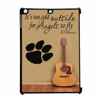 Ed Sheeran Guitar And Song Quotes iPad Air Case