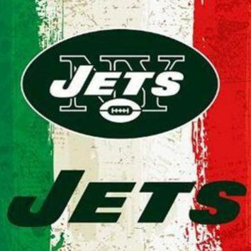 DCCKH6B Oil painting style banner New New York Jets flag 3ftx5ft 100D Polyester nfl custom Flags