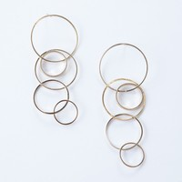 Loop Together Dangle Earrings