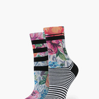 Stance Botanical Womens Anklet Socks Multi One Size For Women 25911295701