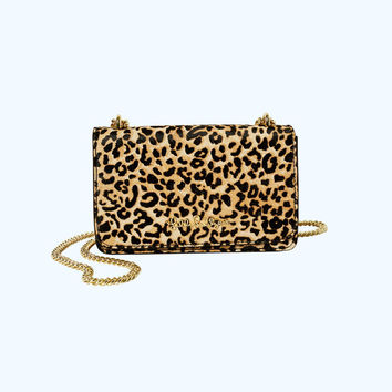 Kat Crossbody Bag | 30692-multileopardhaircalf | Lilly Pulitzer