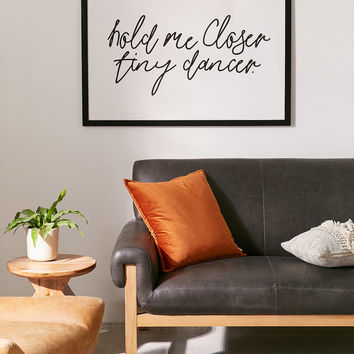 Honeymoon Hotel Hold Me Closer Art Print | Urban Outfitters